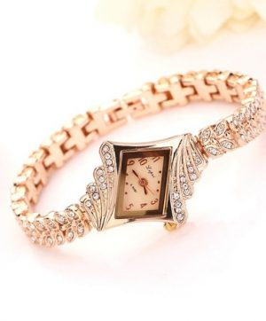 Diamond cut shaped watch