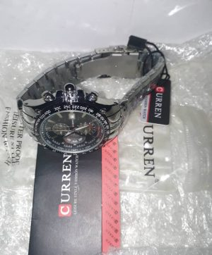 Curren Chain Wristwatch - Black